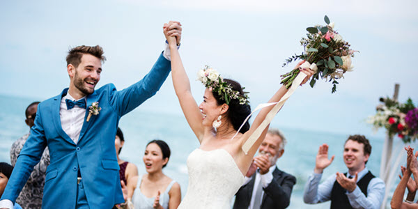 U.S. expat marrying a nonresident alien on a foreign beach