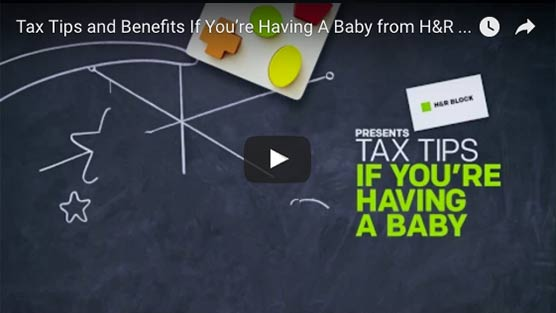 Tax Tips and Benefits If You're Having A Baby from H&R Block