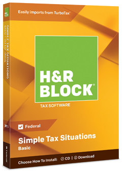 Tax Software For Easy At Home Preparation H R Block